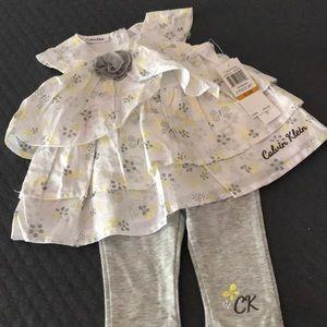 NWT Calvin Klein newborn set